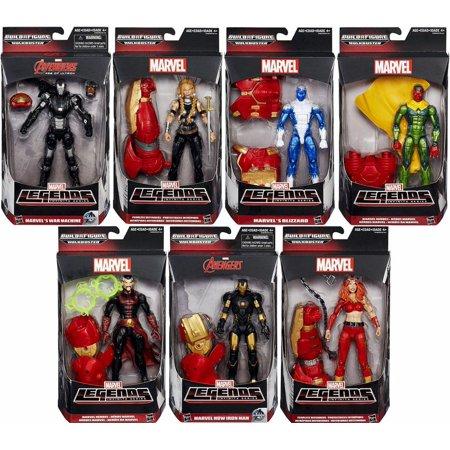 Marvel Legends Avengers Hulkbuster Series Set of 7 Action Figures