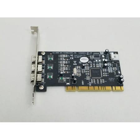 Ads Firewire Hub - Refurbished ADS Technologies API-315 PCI 3-Port FireWire Card