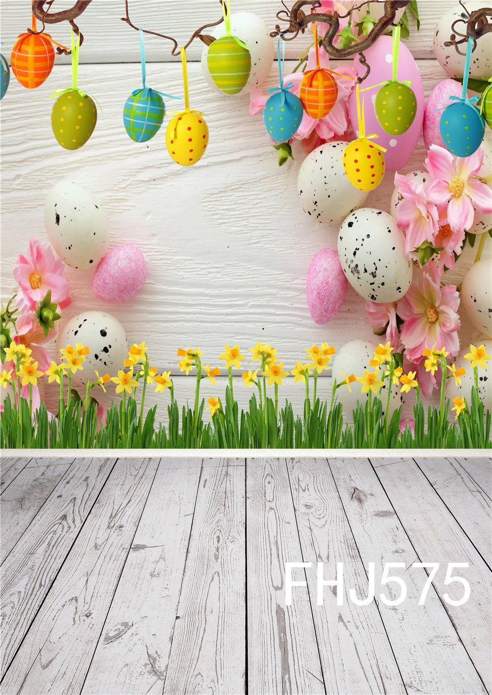 Company Easter Photography Backdrop Spring Photo Background 6x5 Fabric U.S