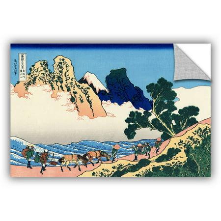 ArtAppealz Katsushika Hokusai The Back of the Fuji from the Minobu Ri