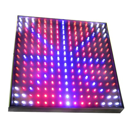HQRP Blue / Red / Orange / White Grow LED Light Panel for Budding, Flowering and Vegetative Glowth Promotion 14W 77 red + 47 blue + 77 Orange + 24 White LED 12 inch + Hanging Kit + UV (Led Grow Lights For Vegetative And Flowering)