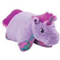 "Pillow Pets 18"" Lavender Unicorn Stuffed Animal Plush Toy Pillow Pet"