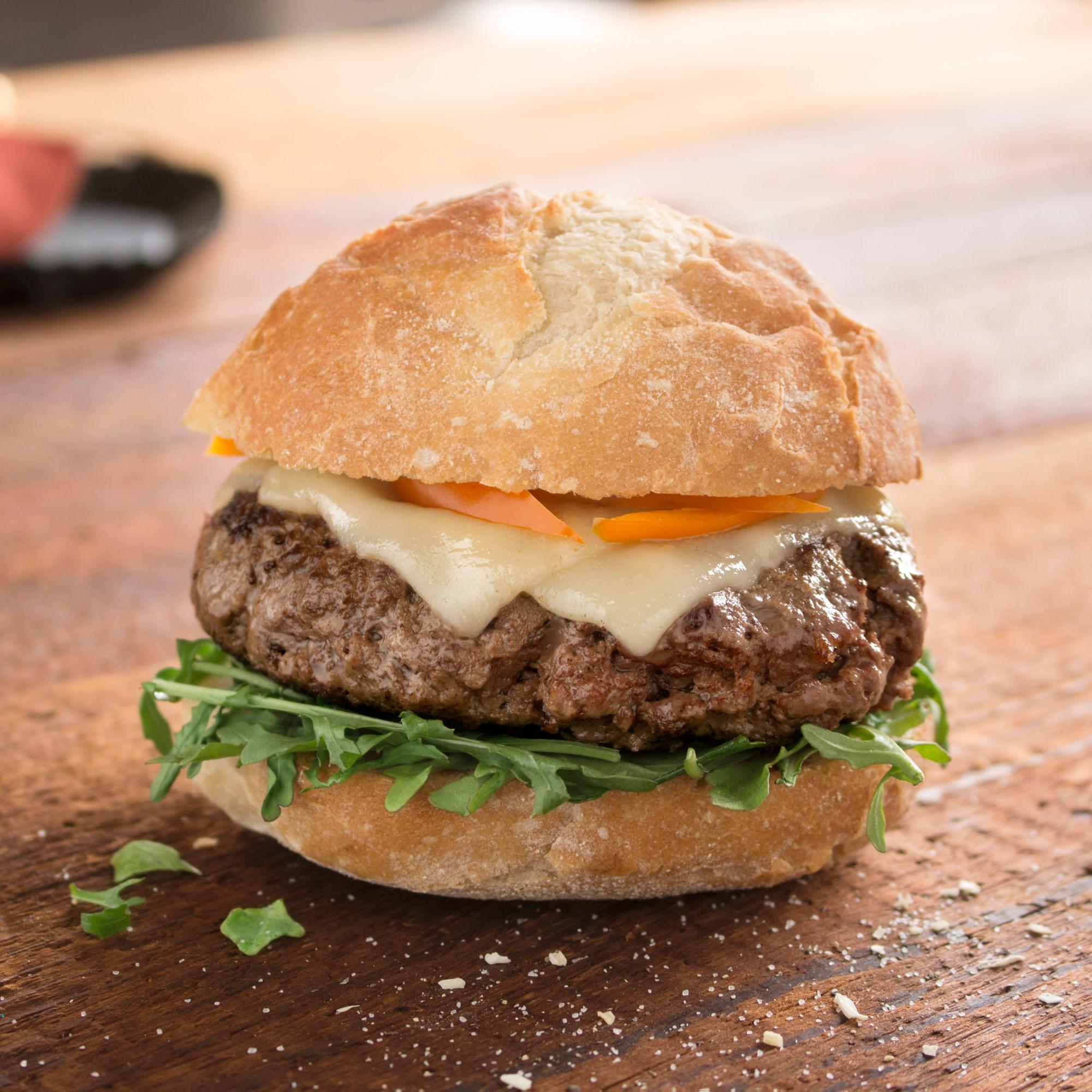 Rastelli Market Fresh Beef Steak Craft Burger, 24 ct. 5 oz. by Rastelli