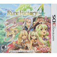 Rune Factory 4 - Nintendo 3DS, The popular spinoff from the Harvest Moon series returns, combining farming and family life with monster battling and.., By Xseed