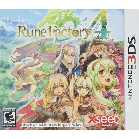 Rune Factory 4 - Nintendo 3DS, The popular spinoff from the 'Harvest Moon' series returns, combining farming and family life with monster battling and.., By (Megaman Battle Network 4 Blue Moon Cheats)
