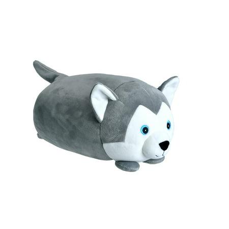 Cuddlekins Dream Puffs Wolf Plush Stuffed Animal by Wild Republic, Kid Gifts, Cute Pillows, 10 Inches