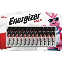 Energizer Max Alkaline AA Batteries, 36 Count