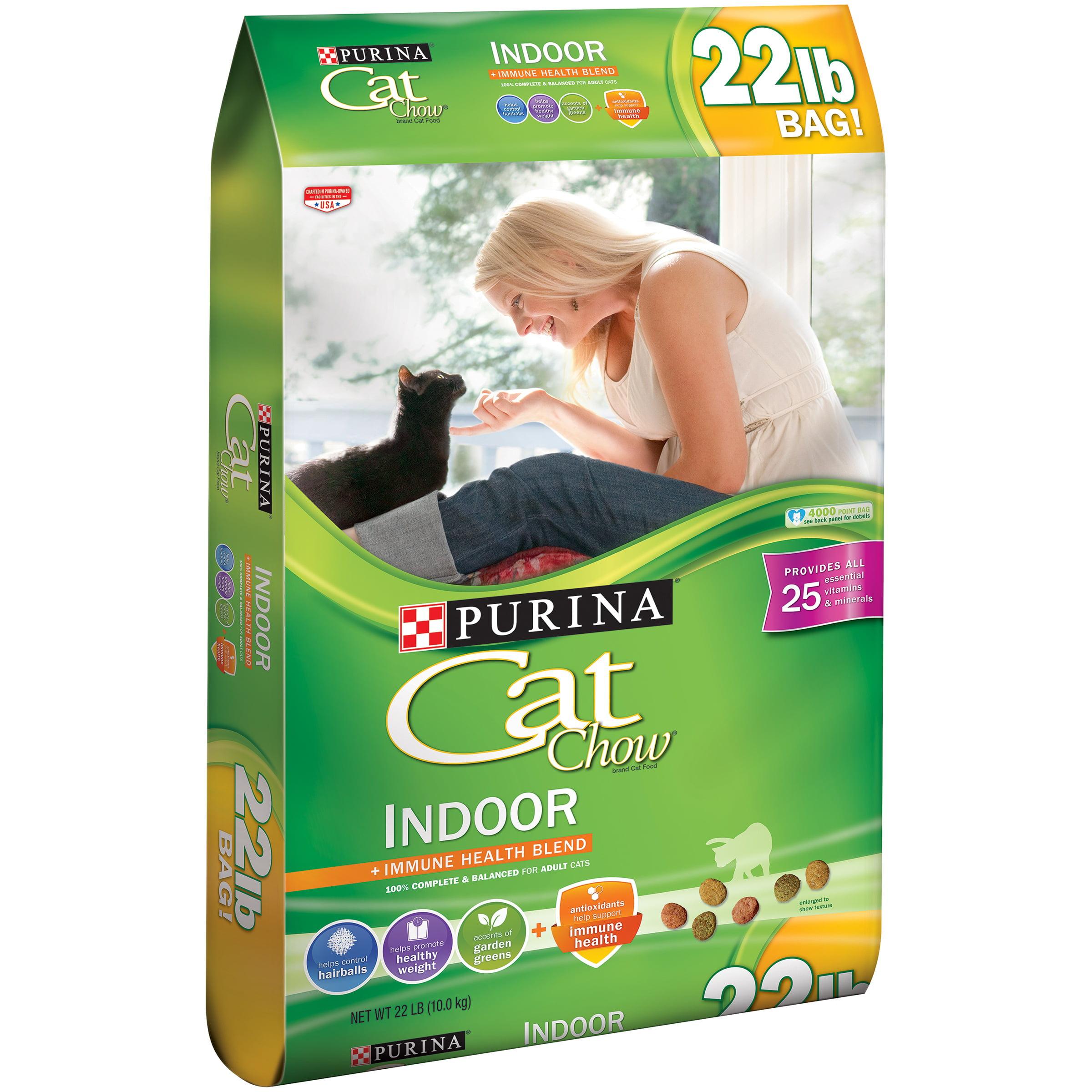 Purina Cat Chow Indoor Cat Food 22 lb. Bag