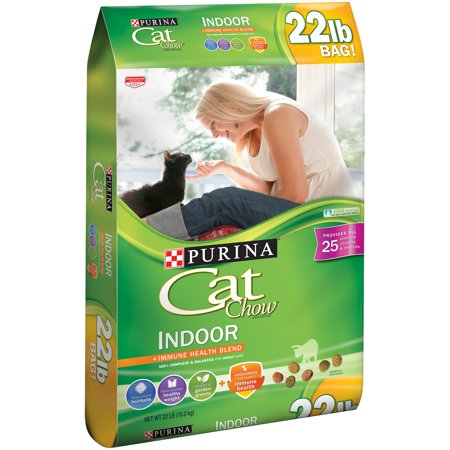 Purina Cat Chow Indoor Cat Food 22 Lb  Bag