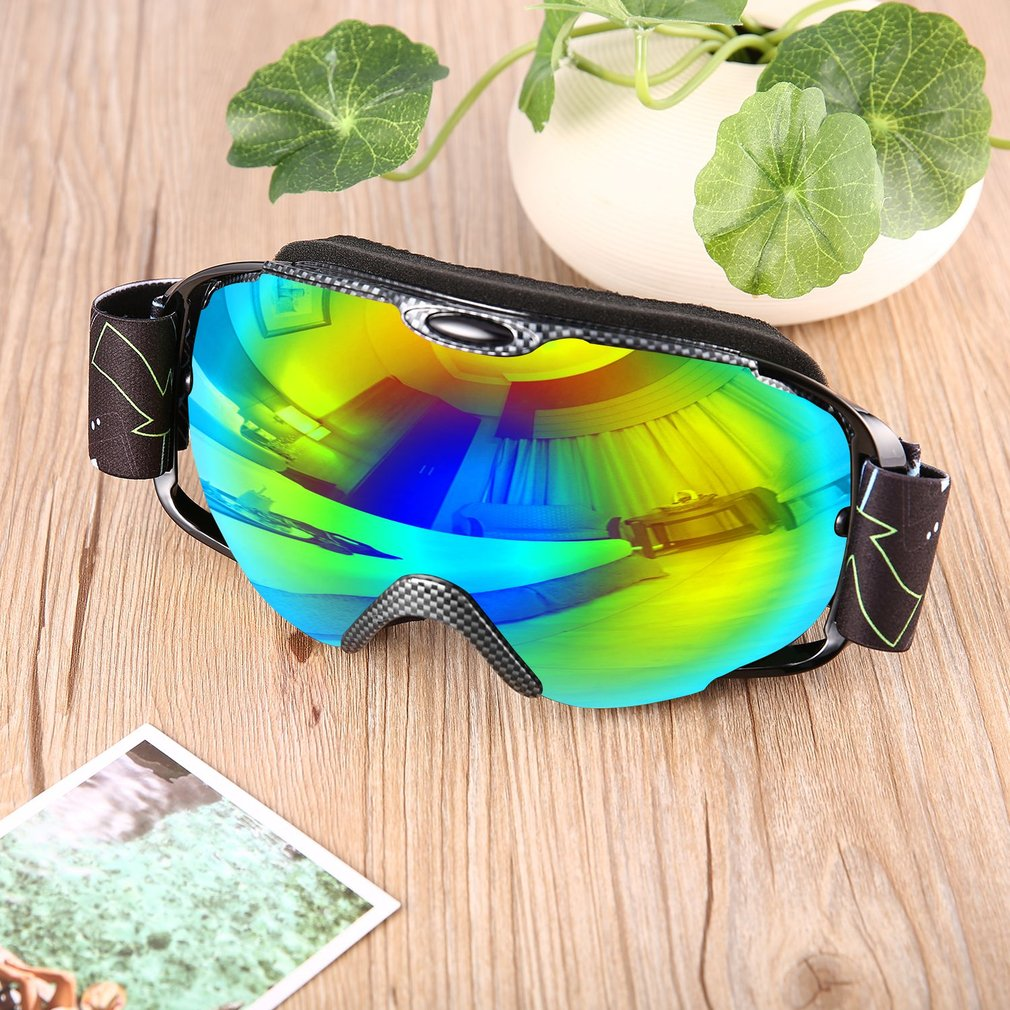 Adults Double Lens Ski Goggles Anti-fog UV400 for Outdoor Sports Skiing Goggles Snow Snowboard Protective Glasses... by