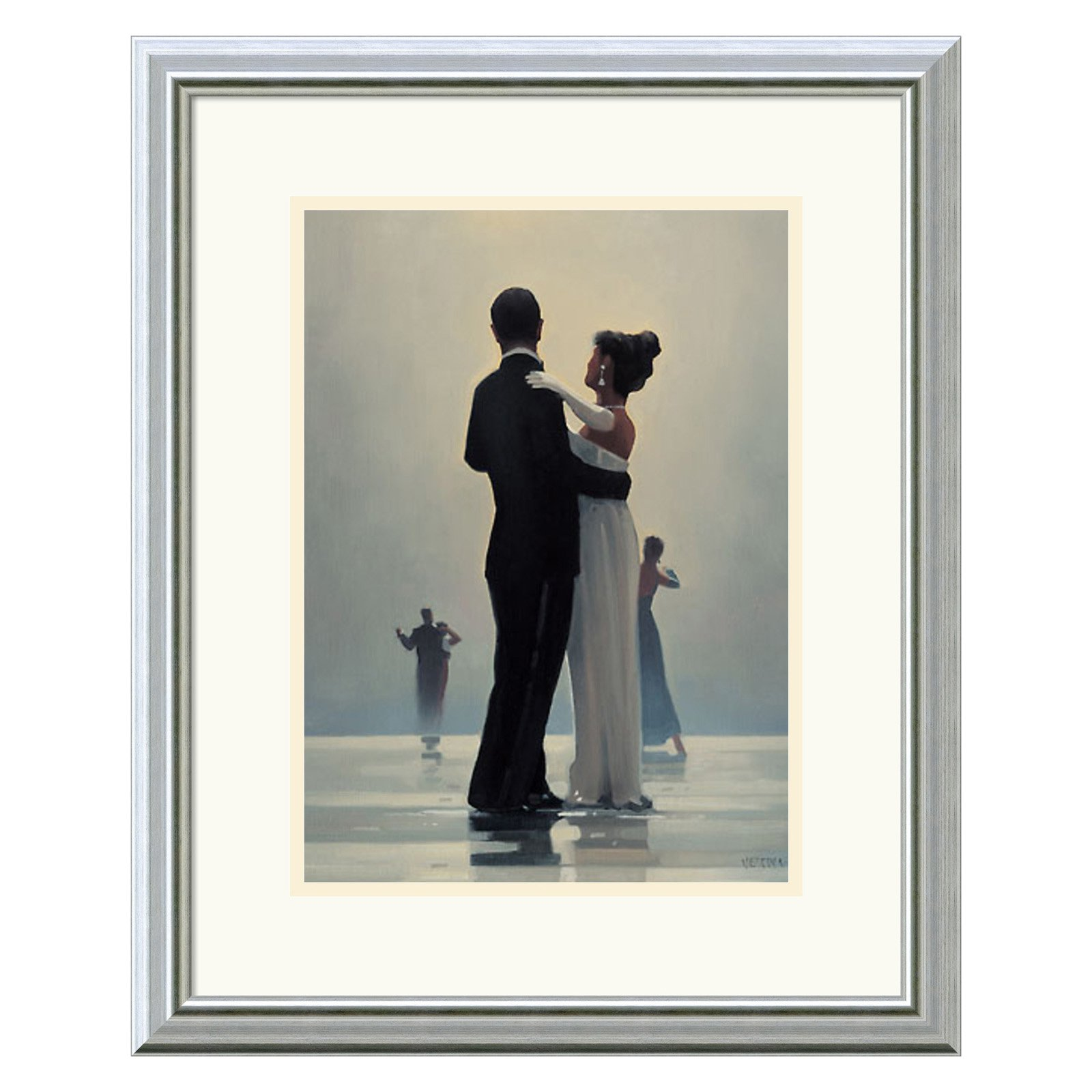 Dance Me to the End of Love Framed Wall Art - 18W x 22H in.