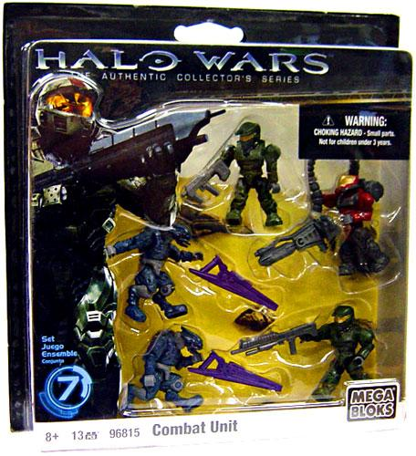 Halo Combat Unit Set Mega Bloks 96815 by