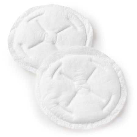 Contoured Disposable Breast Pads - Evenflo Feeding Advanced Disposable Nursing Pads, Individually Wrapped - 60ct
