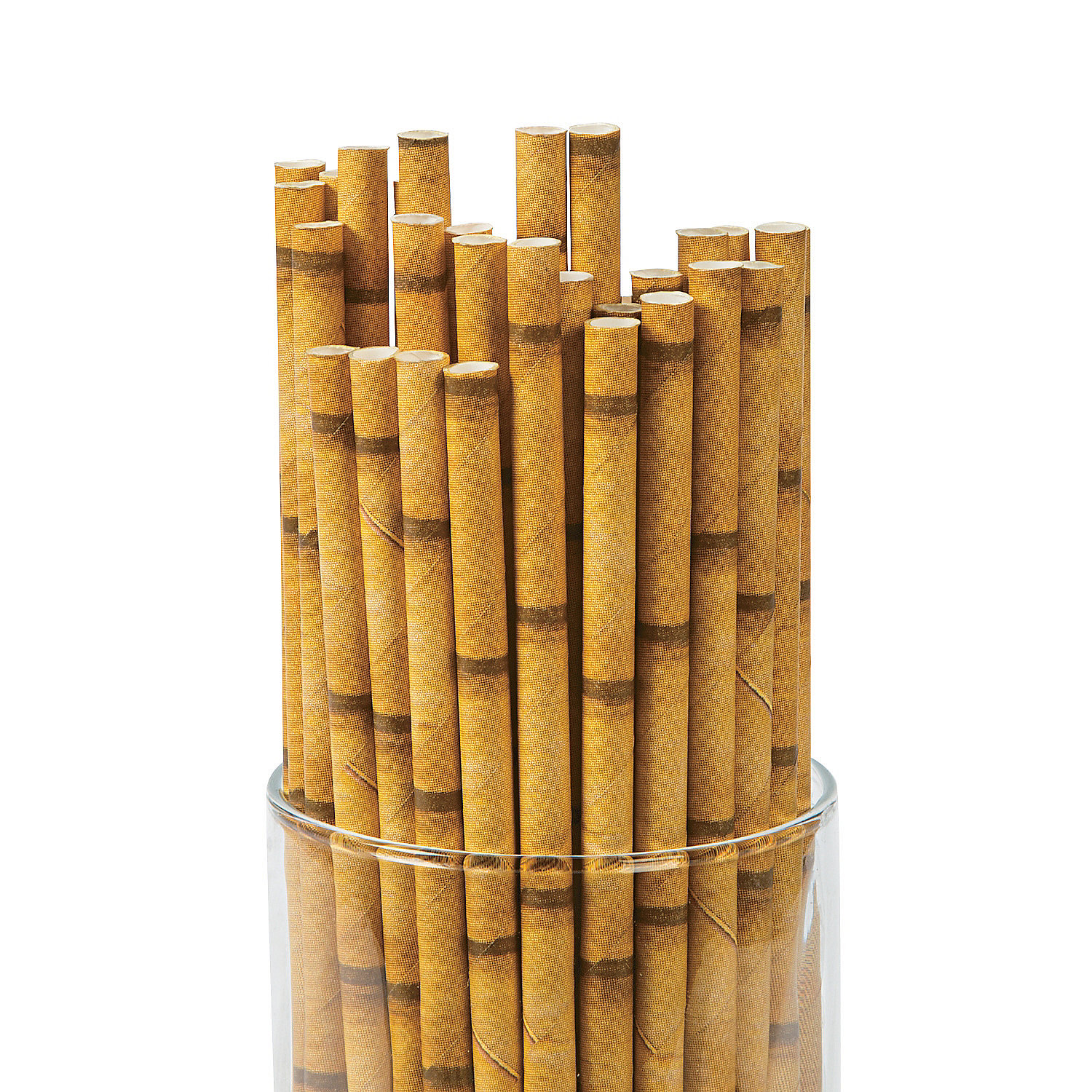IN-13686159 Bamboo Paper Straws