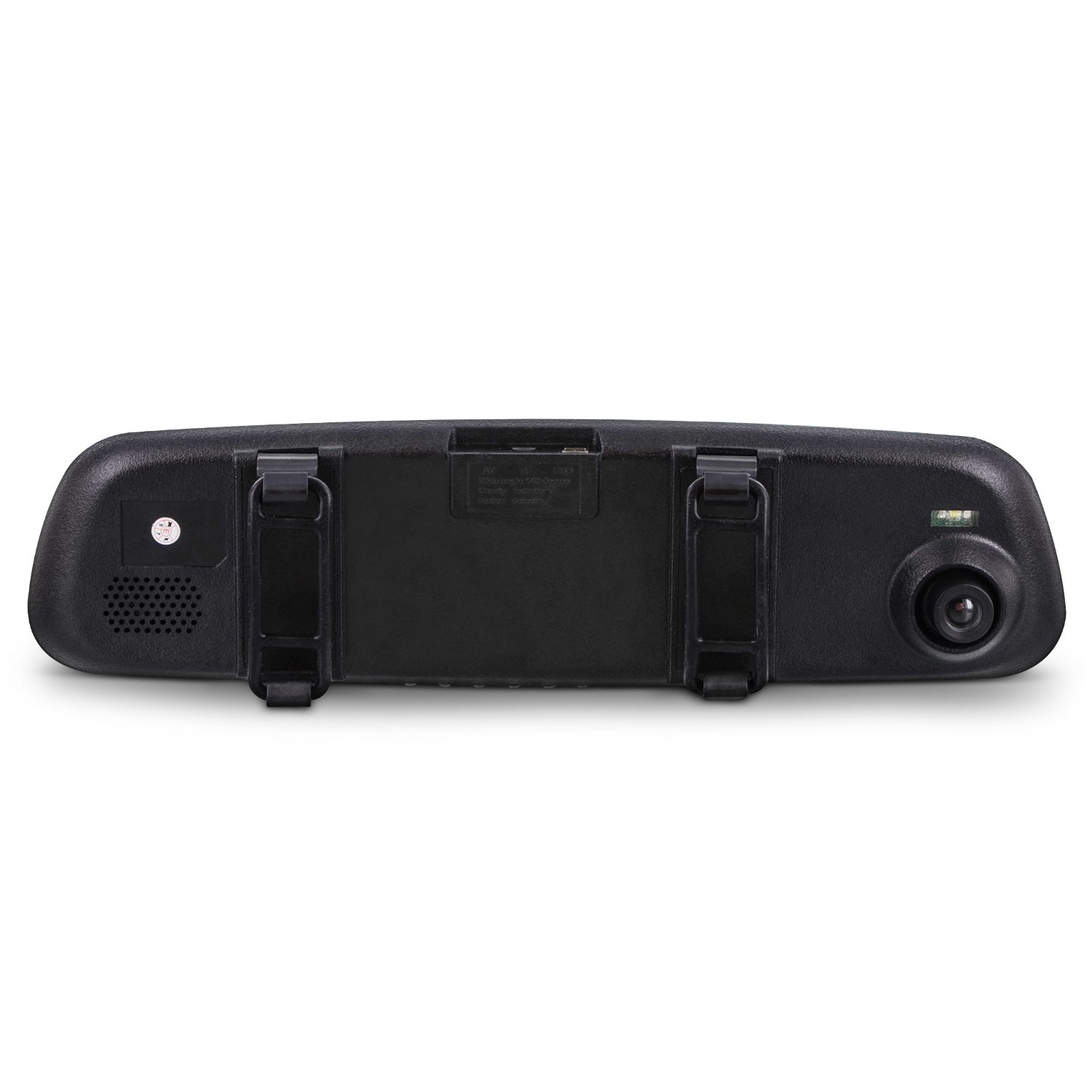 2.6 in LCD Display Aduro MirrorCam Rear View Mirror with Front Video Camcorder for Safety in HD Wide Angle Lens Multiple Languages Seamless Video//Picture//Voice Recording
