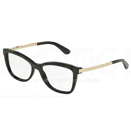 DOLCE & GABBANA Eyeglasses DG 3218 501 Black 54MM