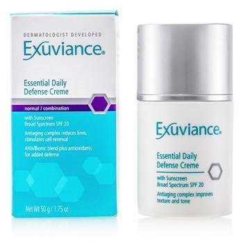 exuviance essential daily defense creme