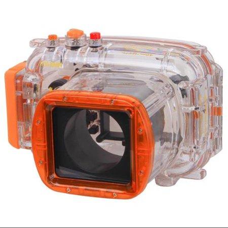 Polaroid Dive Rated Waterproof Underwater Housing Case For Nikon J1 Digital Camera WITH A 10-30mm (Designer Series Camera Housings)