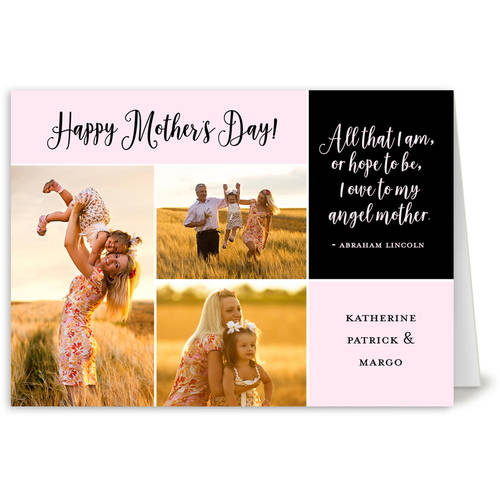 Mothers Day Quote Mother's Day Greeting Card