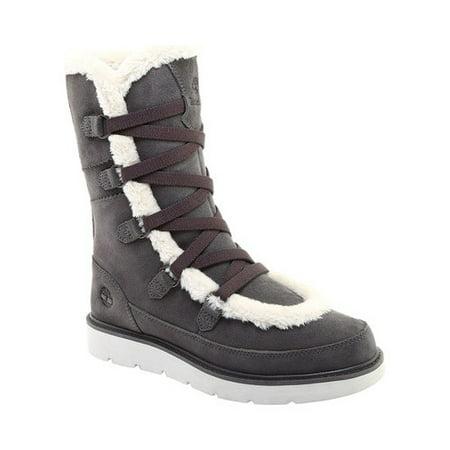 Women's Timberland Kenniston Muk Tall Boot Dark Grey Suede 8 M