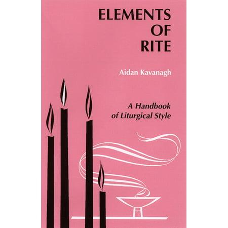 Study Rite Carrels (Elements of Rite : A Handbook of Liturgical Style)