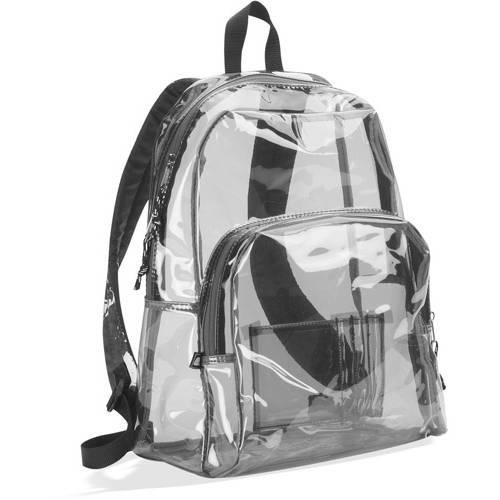 "Eastsport 17.5"" Clear Backpack"