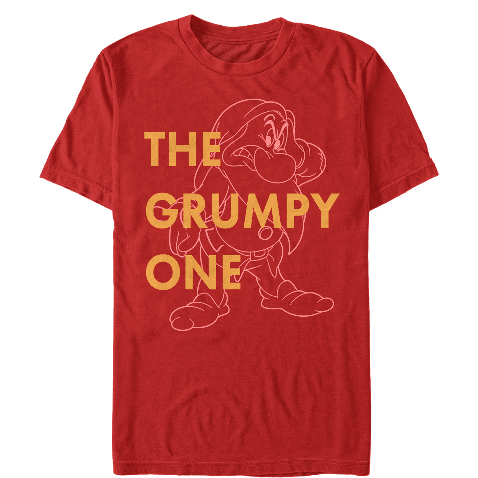Snow White and the Seven Dwarves Men's Grumpy One T-Shirt