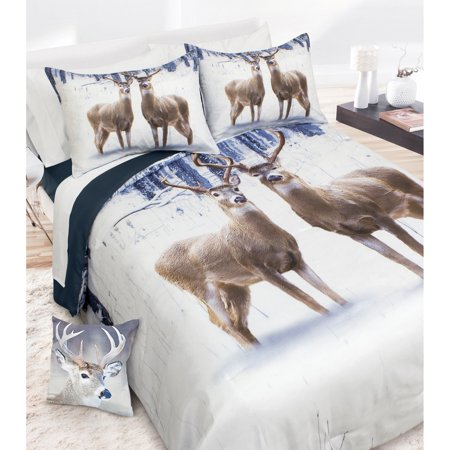 Deer Couple Comforter Set By Safdie And Co
