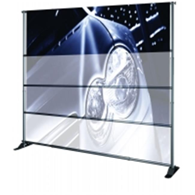 Testrite Visual Products JN4SOC Grand Format Banner Stands