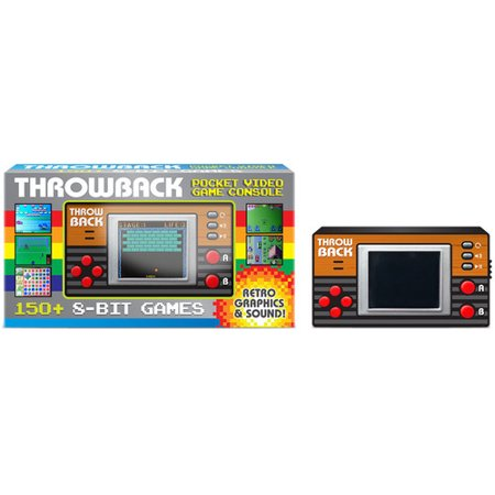 Throwback Video Game: Pocket Video Game Console