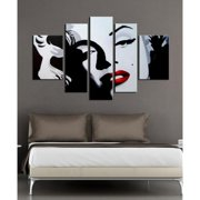 The Lighting Store Hand-painted 'Marilyn Monroe' 5-piece Gallery-wrapped Canvas Art Set