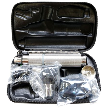 Welch Allyn Diagnostic Set Complete with Otoscope, Opthalmoscope, Handle and Case