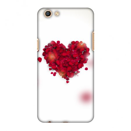 the latest 268d2 da0df Oppo F3 Case, Premium Handcrafted Designer Hard Shell Snap On Case Printed  Back Cover with Screen Cleaning Kit for Oppo F3, Slim, Protective - Rose ...