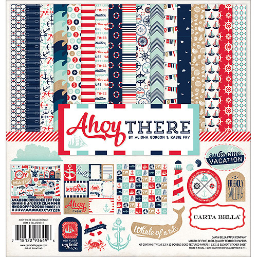 Carta Bella Collection Kit 12 Inch X 12 Inch-Ahoy There