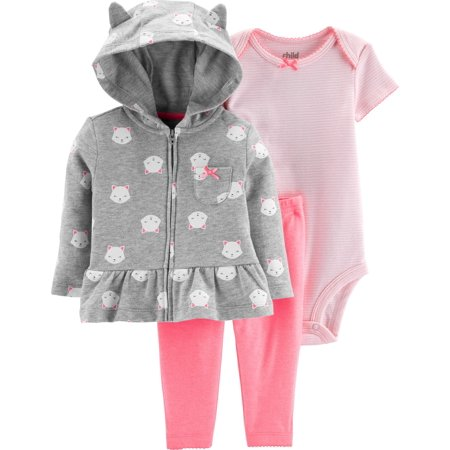 be874442ef16 Child of Mine by Carter s - Hooded Cardigan