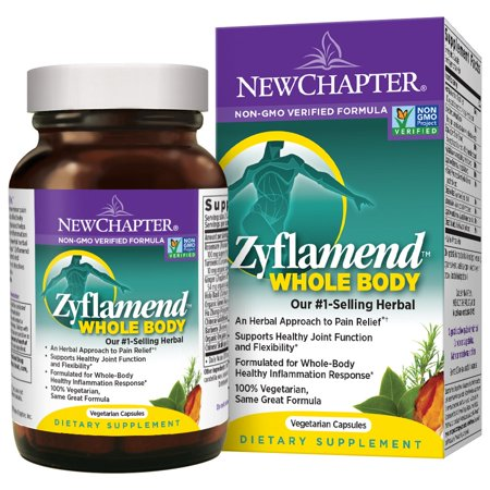 New Chapter Zyflamend Whole Body Vegetarian Capsules, 30 (Body Plus Capsule)