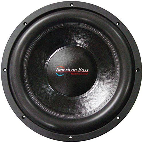 "American Bass XFL-1222 12"" 2,000 Watts Max Power Dual 2 Ohm XFL Series Car Subwoofer"