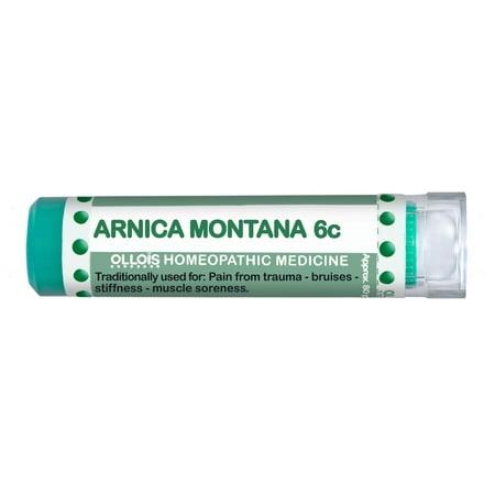 Ollois Arnica 6C Pellets, soulagement de la douleur locale, 80 Ct