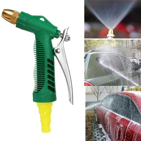 Car High Pressure Water Spray carwashingtool Gun Lawn & Garden Hose Nozzle Sprinkler 3 Adjustable Watering Patterns Watering for Watering Plants, Cleaning, Showering Pets