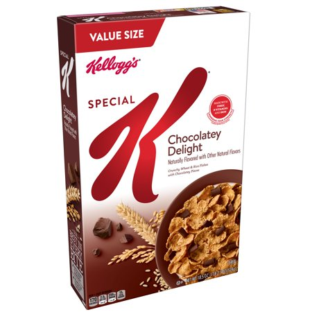 Cereal Dish - (2 Pack) Kellogg's Special K Breakfast Cereal, Chocolate, 18.5 Oz