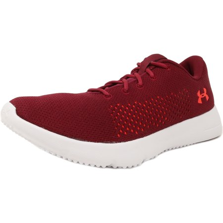 Under Armour Women's Rapid Black Currant / White Marathon Red Ankle-High Running Shoe - (Best Marathon Shoes For Heavy Runners)