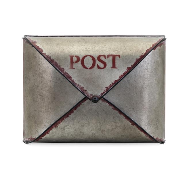 IMAX 16301 Hanley Galvanized Mail Organizer, Gray - image 1 de 1