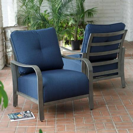 Magnificent Belham Living Samba Rio Metal Deep Seating Lounge Chair Set Of 2 Pdpeps Interior Chair Design Pdpepsorg
