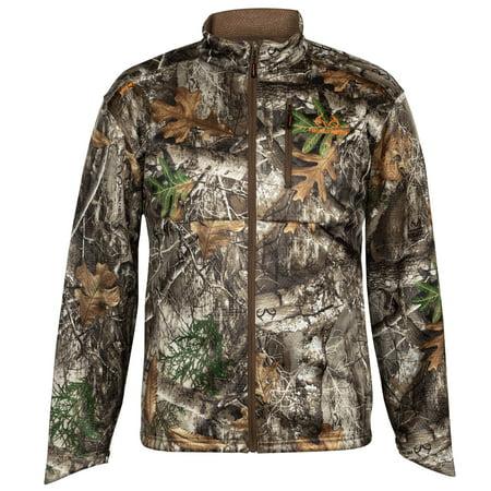 0ca94c4a44dce Realtree - Realtree Men's Camo Techshell Hunting Jacket - Walmart.com