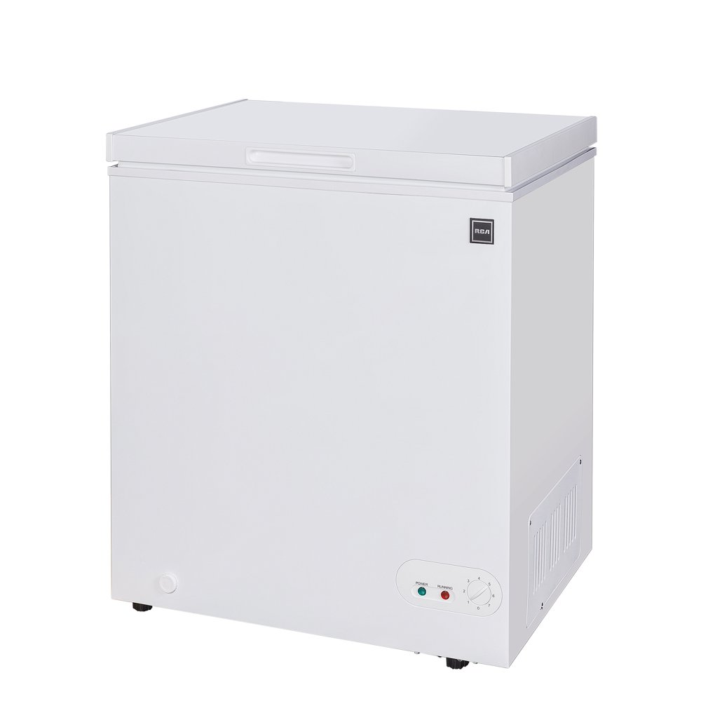 RCA 5.0 Cu. Ft. Chest Freezer RFRF452, White