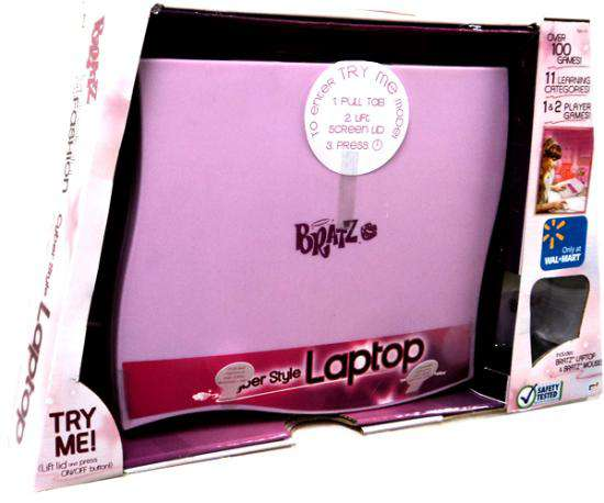 Bratz Cyber Style Passion 4 Fashion Laptop by