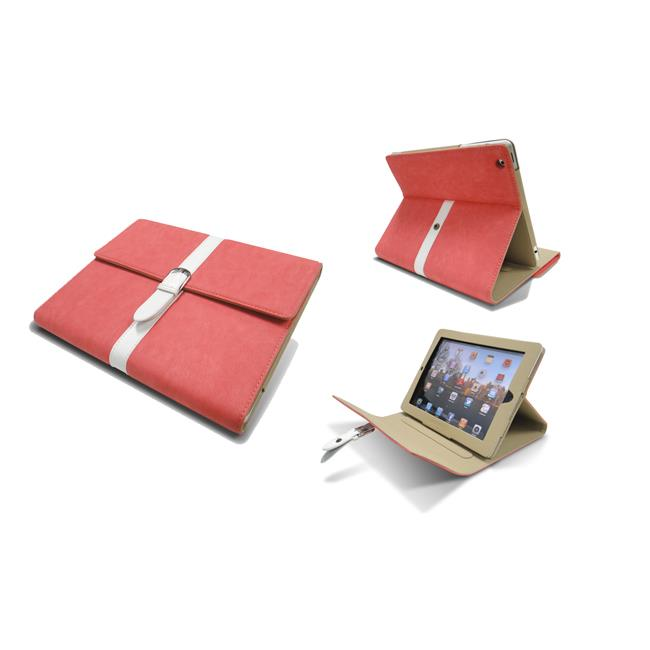 LeMasque Buckle Style Folio case for the New iPad and iPad 2 in with FREE Capaci