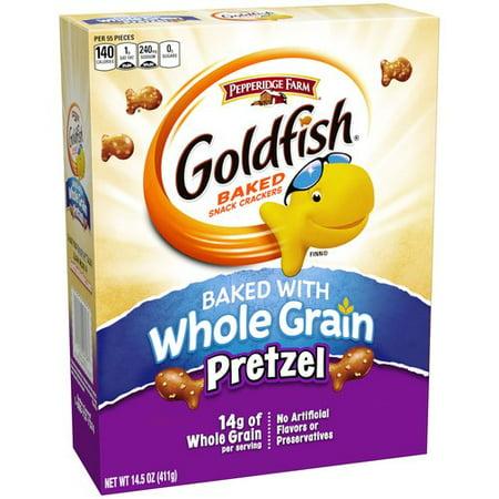 Pepperidge Farm Goldfish Whole Grain Pretzel Snack ...