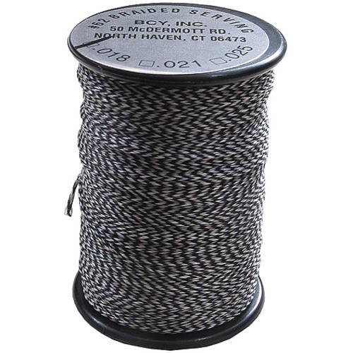 BCY Polygrip .020 75 yds. Center Serving, Grey