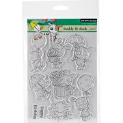 Penny Black Clear Stamps-Buddy & Duck